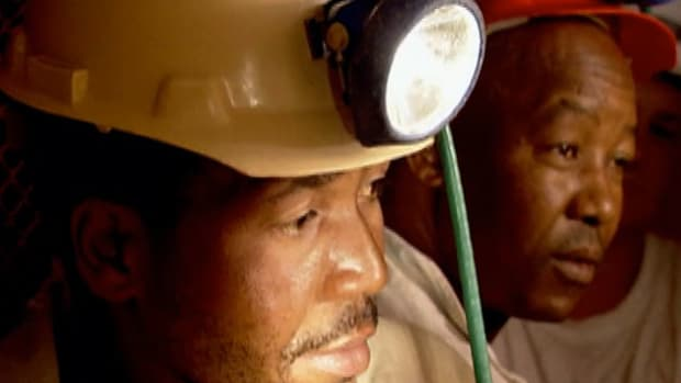 South Africa's gold mines are some of the deepest in the world.