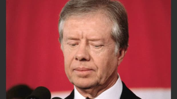 Jimmy Carter Delivers Concession Speech