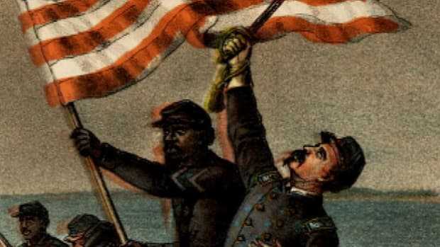 The 54th Massachusetts Volunteer Infantry Regiment was one of the first official black units in the U.S. armed forces. Their courageous assault on Fort Wagner played a key role in bringing about an end to slavery.