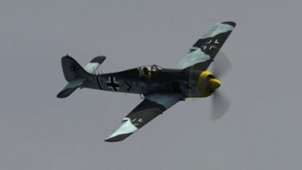 What features of the Focke Wulf 190 multipurpose fighter plane made it a superior dogfighter for the Luftwaffe?