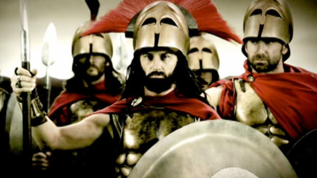 Find out how the Persians initially had almost no affect against the 300 Spartan soldiers at the Battle of Thermopylae.