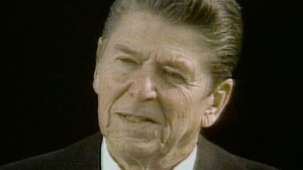 Excerpts from Ronald Reagon's inaugural address on Tuesday, January 20, 1981.