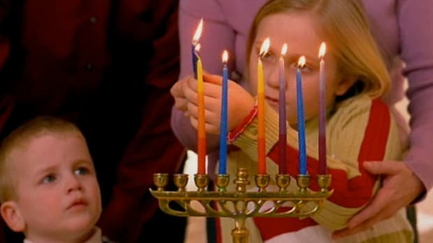 Hanukkah celebrates the triumph of Jewish people over religious persecution.