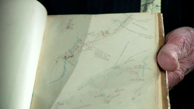 Confederate topographical engineer Jedidiah Hotchkiss' sketchbook -- created with meticulous detail while on horseback -- helps Gen. Stonewall Jackson to master terrain during the Civil War.
