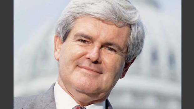 On opening day, January 4, 1995, Congress convened with the Republican Party in control of both the House of Representatives and the Senate. Speaker of the House Newt Gingrich kicks off the historical session by reciting the Republican Contract With America.