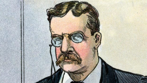 Theodore Roosevelt believed America's greatest evil was too much power in the hands of corporate America. Find out what happened when he took on J.P. Morgan, the nation's most powerful financier.