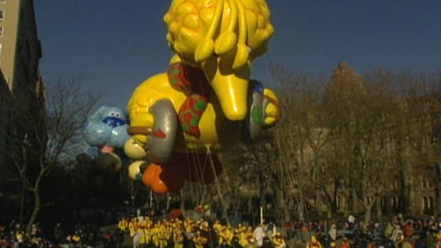 The Macy's Thanksgiving Day Parade has been marching since 1924.