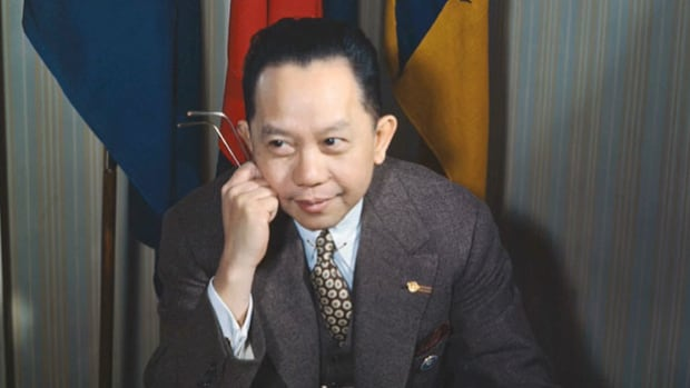 In an interview on June 14, 1947, the Philippines' ambassador to the United Nations, Carlos Romulo, discusses the advantages of a new commercial airline service between the United States and the Philippines.