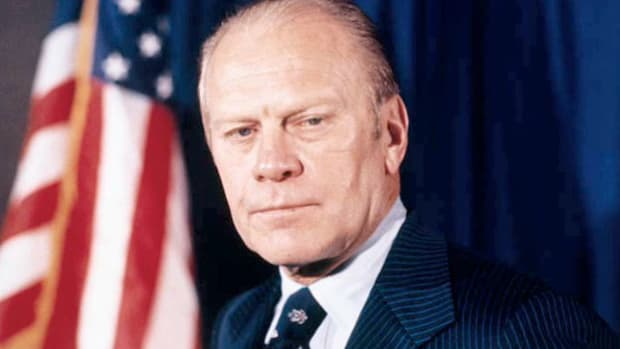 In April 1975, when North Vietnamese forces reached Xuan Loc, Saigon's last line of defense, President Nguyen Van Thieu announced his resignation. In an interview, President Gerald Ford denies that the U.S. government influenced Thieu's decision.