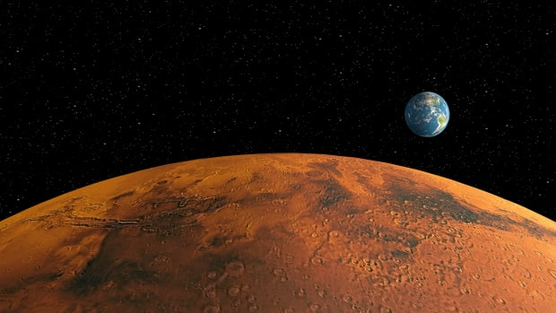 space_mars-and-earth_corbis-2