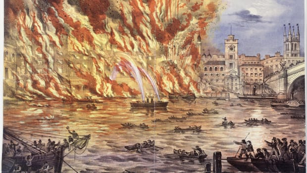 hith-great-fire-read_and_company_-_print_coloured_lithograph_-_the_great_fire_near_london_bridge_saturday_june_22nd_1861_-_google_art_project-2