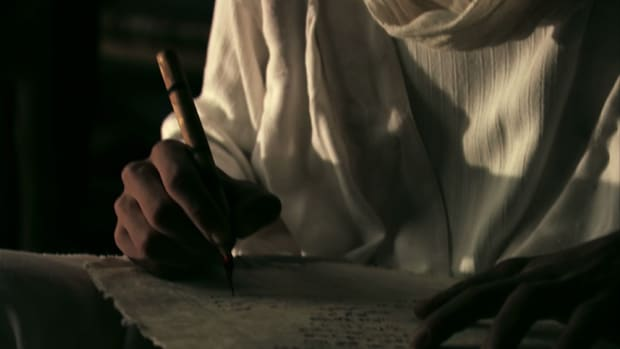 The invention of written language replaced the oral tradition and allowed civilizations to store and share knowledge.