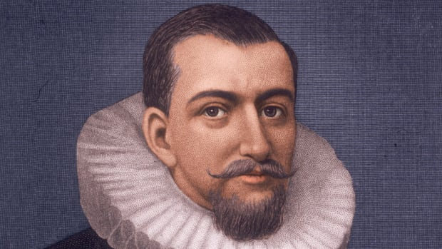 Circa 1595, English navigator Henry Hudson (d. 1611) who while traveling in the ´Half Moon´ for the Dutch East India Company, discovered the Hudson River and reached Hudson Bay in 1610-11. He died after mutineers set him adrift, and he was lost at sea. (Photo by Stock Montage/Getty Images)