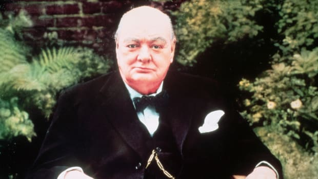 ca. 1945-1965 — Sir Winston Churchill — Image by © Bettmann/CORBIS