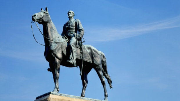 statue-of-general-george-meade-on-horseback