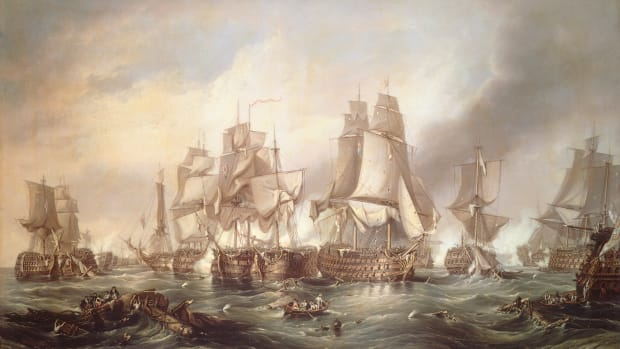 the-battle-of-trafalgar