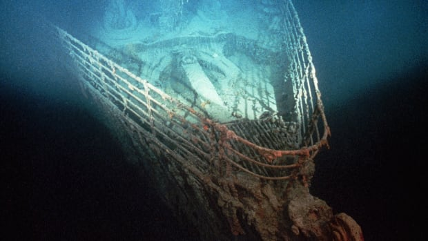 1991 — On September 1, 1985, underwater explorer Robert Ballard located the world's most famous shipwreck. The  lay largely intact at a depth of 12,000 feet off the coast of St. John's, Newfoundland. Using a small submersible craft, Ballard explored the wreck in 1986, taking a series of spectacular and haunting pictures and giving the world its first glimpse of the legendary ship in 73 years. In August 1998, the hull of the  was finally raised. — Image by © Ralph White/CORBIS