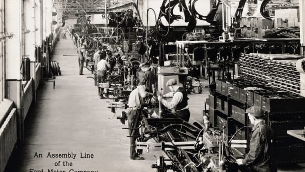 ford rouge, ford cars, ford river rouge plant, assembly line, 1930s, the industrial revolution, industrial inventions