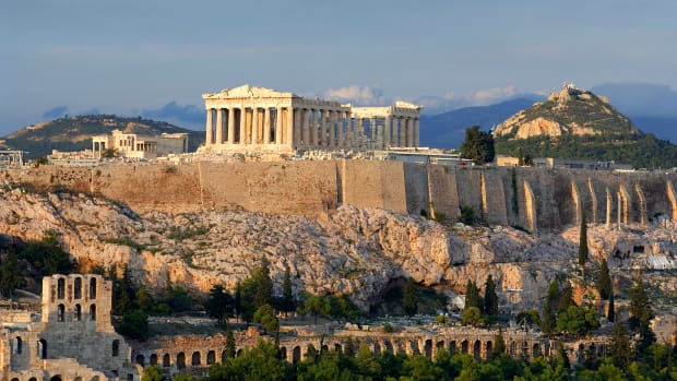 Athens, Attica, Greece — Greece, Attica, Athens, Acropolis, listed as World Heritage by UNESCO — Image by © René Mattes/Hemis/Corbis