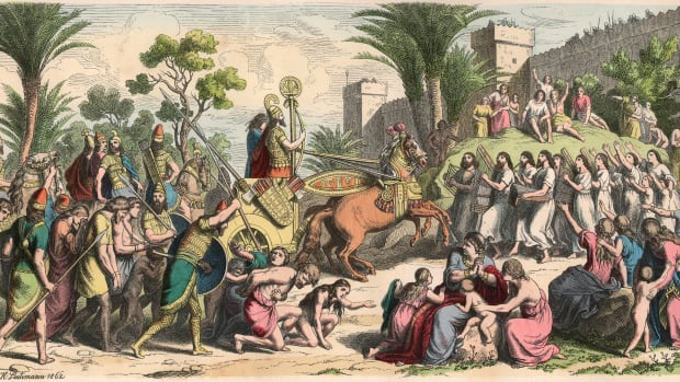 reception-of-a-victorious-general-in-mesopotamia