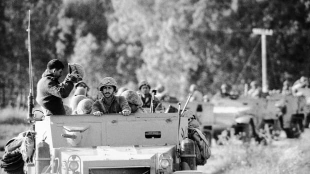israeli-convoy-during-six-day-war
