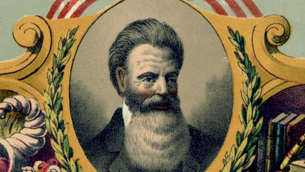 john-brown-1800-1859-american-abolitionist-and-folk-hero-who-believed-in-armed-revolt-to-end-all-slavery-led-pottawatomie-massacre-1856-and-made-an-unsuccessful-raid-on-the-armoury-at-harpers-f