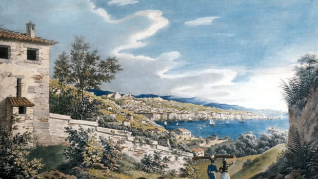greece-lithographs-engravings-from-the-19th-century-greece-makedonien-macedonia-thessaloniki-view-of-the-city-of-saloniki-colored-lithograph-by-g-w-kraus-19th-century