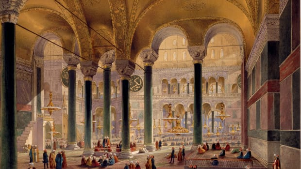 interior-view-of-hagia-sophia-by-louis-haghe-after-a-drawing-by-chevalier-caspar-fussati