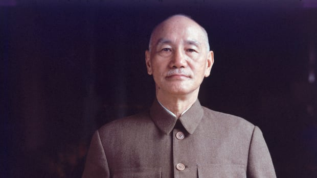 REPLACE Date taken: 1957 Description: Portrait of General Chiang Kai-Shek. Country: Taiwan cr: John Dominis/Time & Life Pictures/Getty Images OWNED