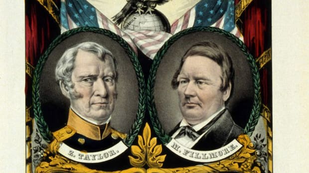 whig-party-banner-for-the-election-of-major-general-zachary-taylor-1784-1850-as-12th-president-of-the-united-states-of-america-1849-1850-and-his-vice-president-millard-fillmore-fillmore-became-13