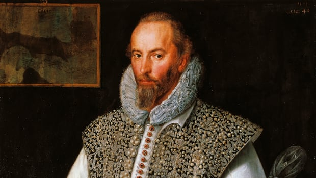 UNSPECIFIED – CIRCA 2003: Portrait of Walter Raleigh (ca 1552-1618), English explorer, adventurer and writer, the favourite of Queen Elizabeth I. Dublin, National Gallery Of Ireland (Photo by DeAgostini/Getty Images)