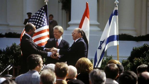 signature-of-accords-of-camp-david-in-washington-united-states-on-march-26-1979