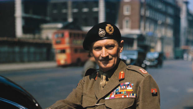 Bernard Montgomery, British Field Marshall. — Image by © Bettmann/CORBIS