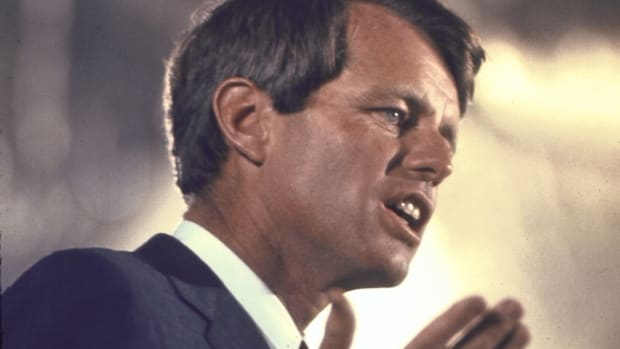 Robert F. Kennedy. (Credit: Bill Eppridge/The LIFE Picture Collection/Getty Images)