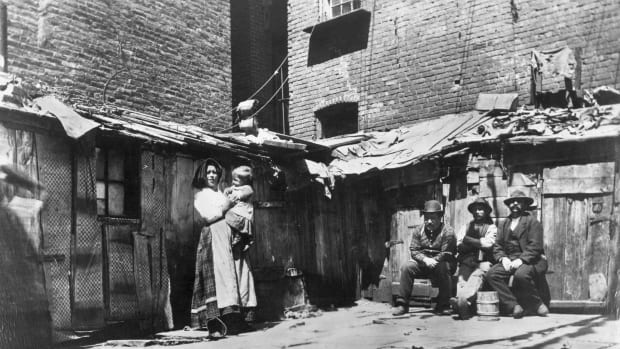 Jacob Riis Tenement Photographs