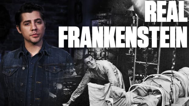 Real Life Frankenstein Scares a Man to Death