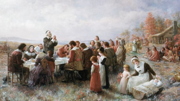 First Thanksgiving-Getty-640266505