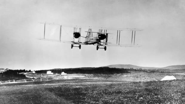 The First Nonstop Transatlantic Flight