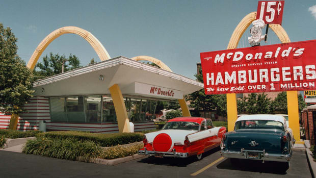 The History of McDonald's