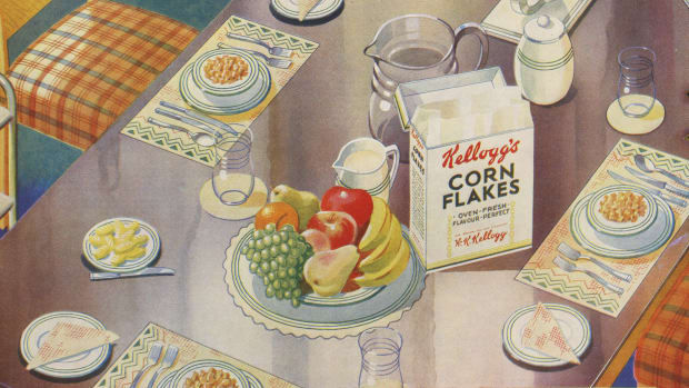 The History of Kellogg's Breakfast Cereal