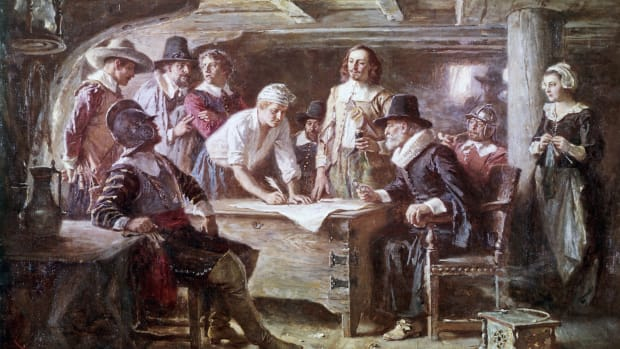 Signing of the Mayflower Compact