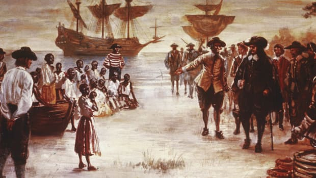 Slavery in Jamestown