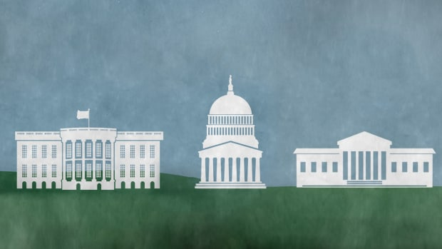 The 3 Branches of Government: the Executive Branch, the Legislative Branch, and the Judicial Branch