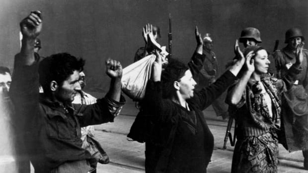 HISTORY: The Warsaw Ghetto Uprising