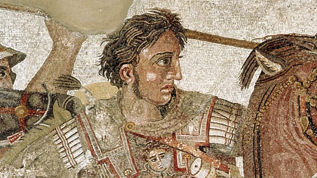Alexander the Great conquers the Persian Empire