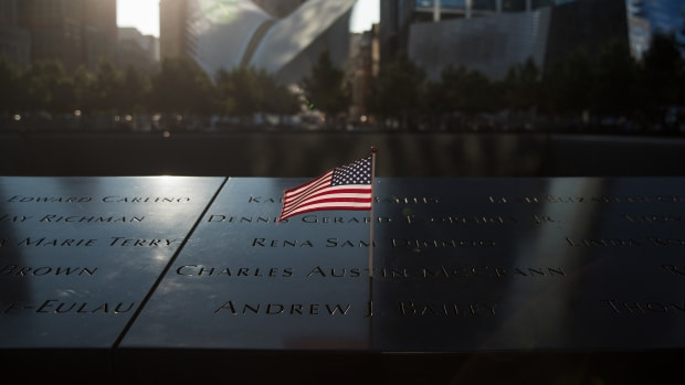 9/11 Memorial of the September 11 Attacks in New York City