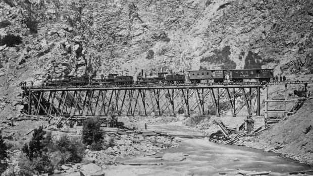 HISTORY: The Transcontinental Railroad