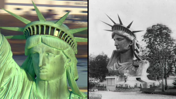 History Shorts: How the Statue of Liberty Got Across the Atlantic