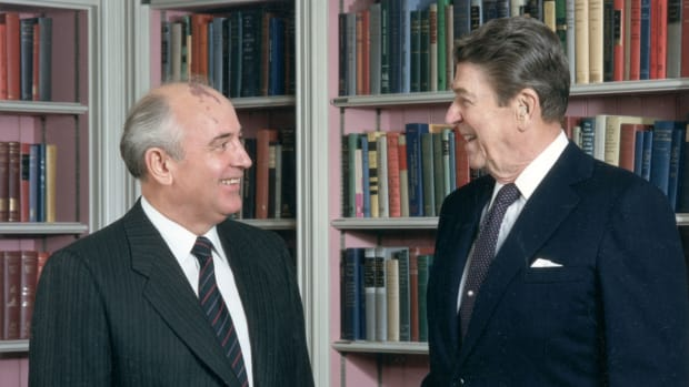 Ronald Reagan and Mikhail Gorbachev's Friendship