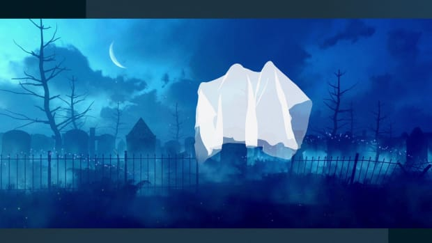 Why Do Ghosts Wear White Sheets?